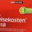 Lexware Reisekosten 2018 Jahresversion 365-Tage – Anzeige