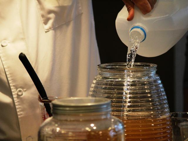 Kombucha-Tee, selber hergestellt