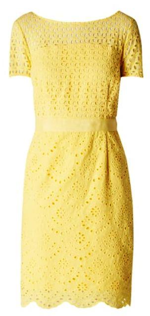 Kleider Trends, Kleid aus Lochspitze, Quelle: Peek & Cloppenburg