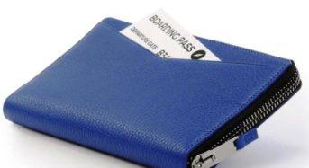 Leder Reise Portemonnaie von GILBANO – Anzeige