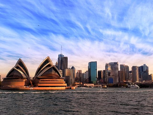 Urlaub im Oktober, das Opernhaus in Sydney, Quelle: pixabay