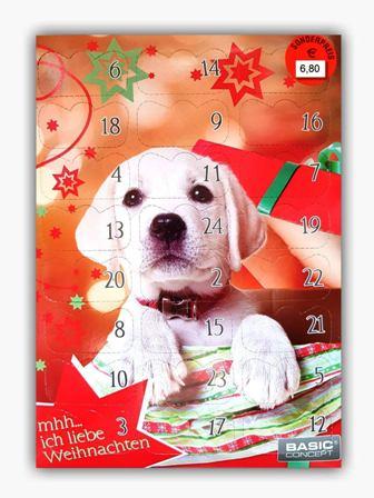 Adventskalender für Hunde, Quelle: Amazon Services Europe S.à r.l.
