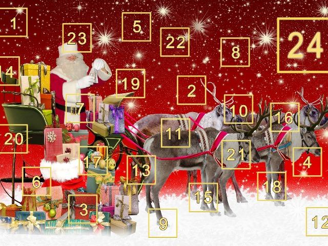 Adventskalender Gewinnspiele 2018, Quelle: pixabay