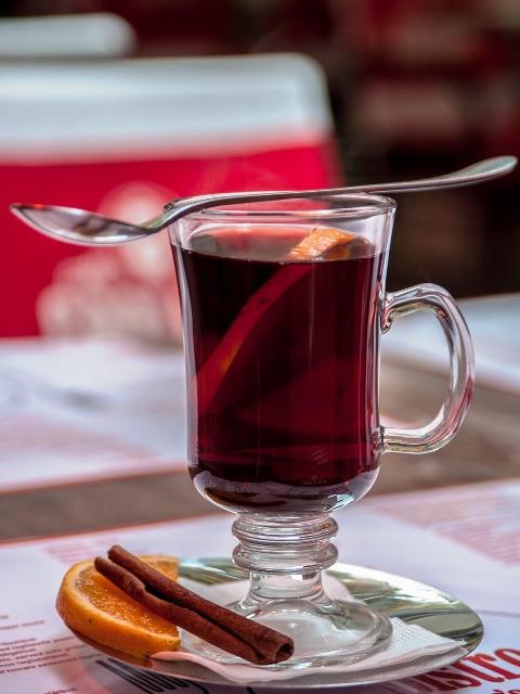Leckere und gesunde Weihnachtsbäckerei, Glühwein, Quelle: pixabay