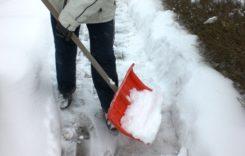 Freie Gehwege im Winter