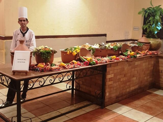 Marsa Alam, Jolie Beach Resort, Abendbuffet
