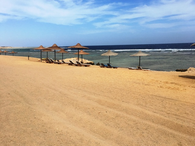 Marsa Alam, Jolie Beach Resort, Strandabschnitt