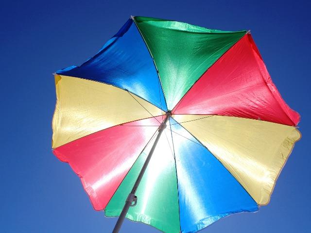 UV-Schutz bei Sonnenschirmen, Quelle: pixabay