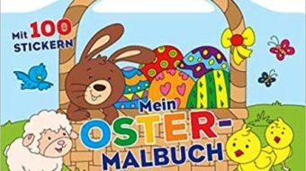 Bastelsets und Malbücher für Ostern