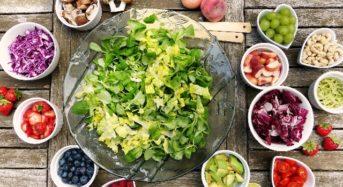 Bunte Ernährung für die Gesundheit