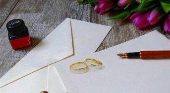 Hochzeitseinladung – Tipps für Einladungskarten