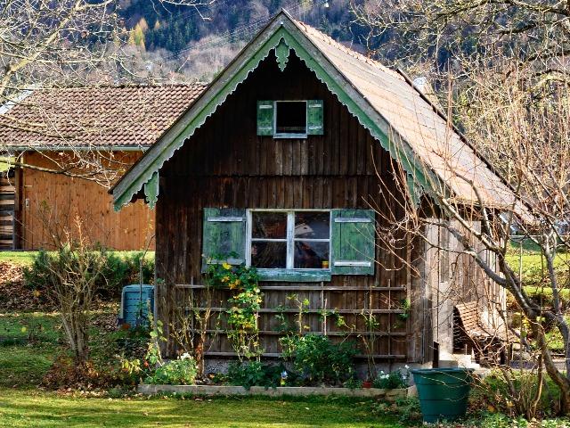 Gartenhaus verschönern, Quelle: pixabay