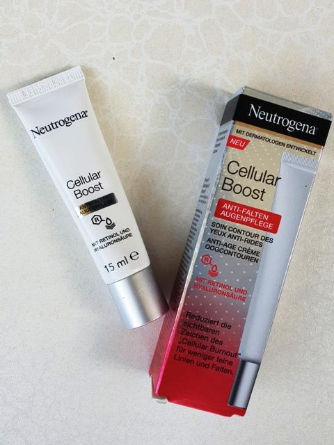 Anti-Falten Augenpflege, von Neutrogena