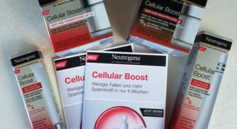 Neutrogena Cellular Boost – Anzeige