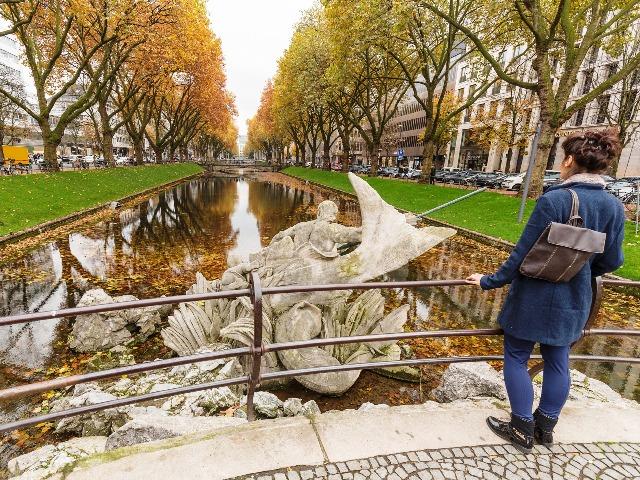Düsseldorf, Königsallee, Quelle: pixabay