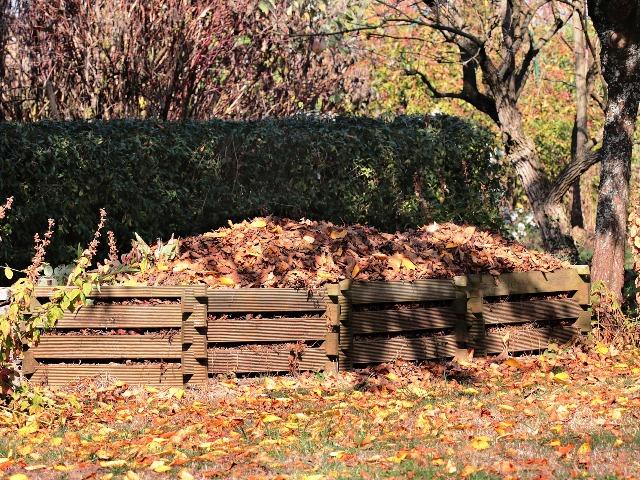 Kompost, im Herbst, Quelle: pixabay
