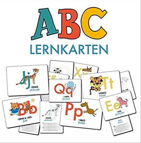 Kleinigkeiten für die Schultüte, Lernkarten,  Quelle: Amazon EU S.à.r.l
