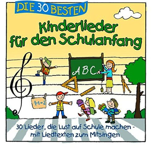 Geschenke zur Einschulung, 30 Kinderlieder, Quelle: Amazon EU S.à.r.l