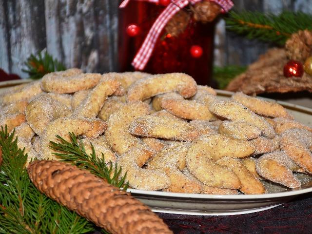 Plätzchen für Diabetiker, Vanillekipferl, Quelle: pixabay