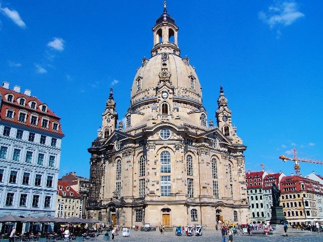 Dresden, die Frauenkirche, Bild von Hans Hansen auf Pixabay