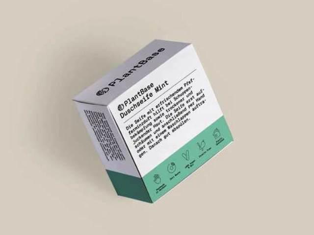 Naturkosmetik ohne Plastik, Duschseife Mint, Quelle: PlantBase